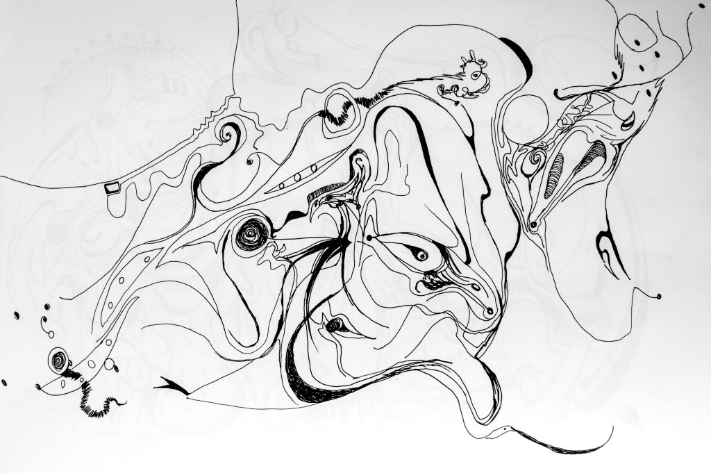 Lucille Lehr Automatic Drawing (2 of 5)