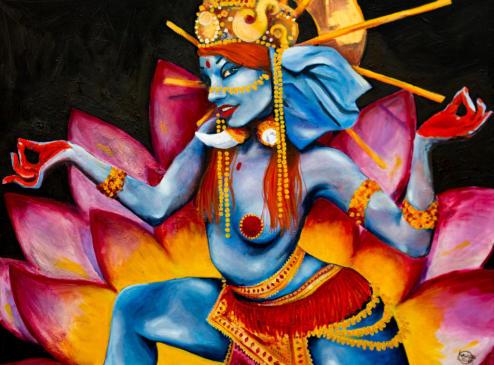 Ganesha At Dr Skechy's