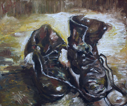 Gogh's Shoes - (SOLD)